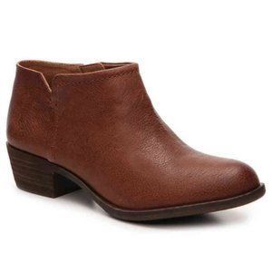 Lucky Brand Bardon 2 Ankle Boots Brown Size 10